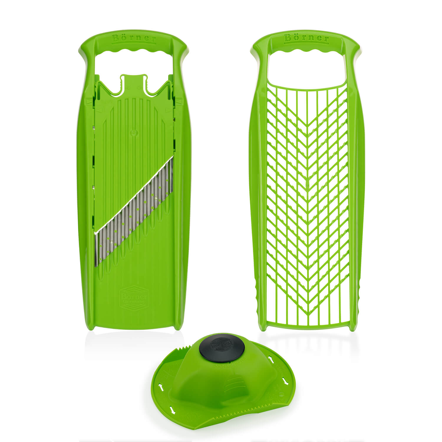 Borner Grater and Waffle Cutter Powerline - food holder included